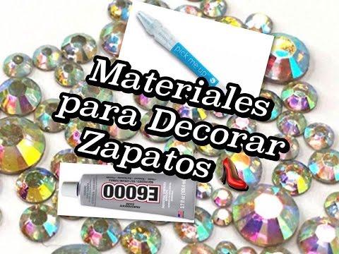Diy como decorar zapatos con piedras preciosas los materiales que necesitas beautylu504 - Piedras para decorar ...