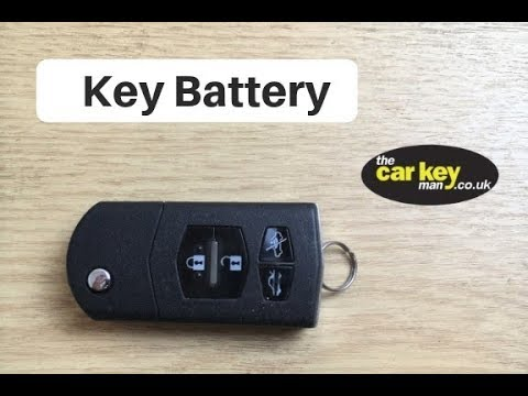 Mazda 3 Key Fob Battery >> Key Battery Mazda Remote Key HOW TO change - YouTube