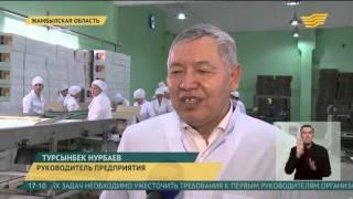 в Жамбылской области сельский предприниматель наладил выпуск макаронных изделий