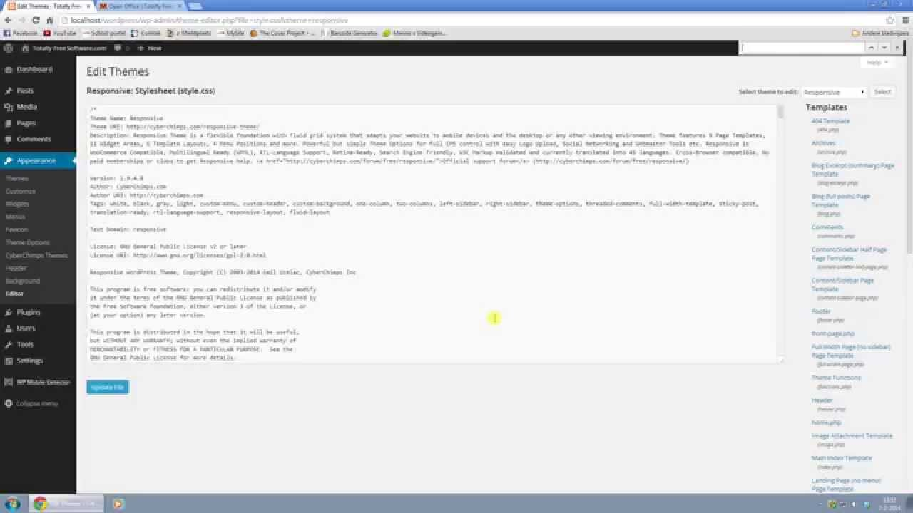 Wordpress 3 8 1 Responsive Theme - Remove Author and Date from articles  (1080p)