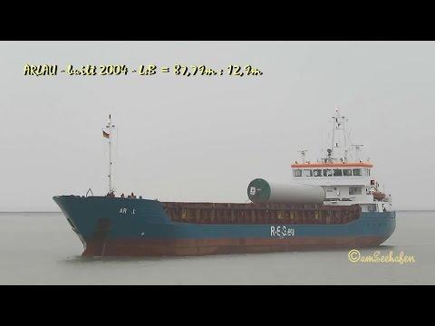 ARLAU V2OP2 IMO 9192650 Emden coaster cargo seaship merchant vessel KüMo Seeschiff