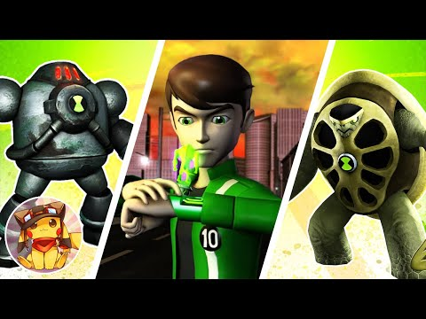 BEN 10 Ultimate Alien Cosmic Destruction - Part 5 - Tokyo Nights - Walkthrough (2010) [1080p]
