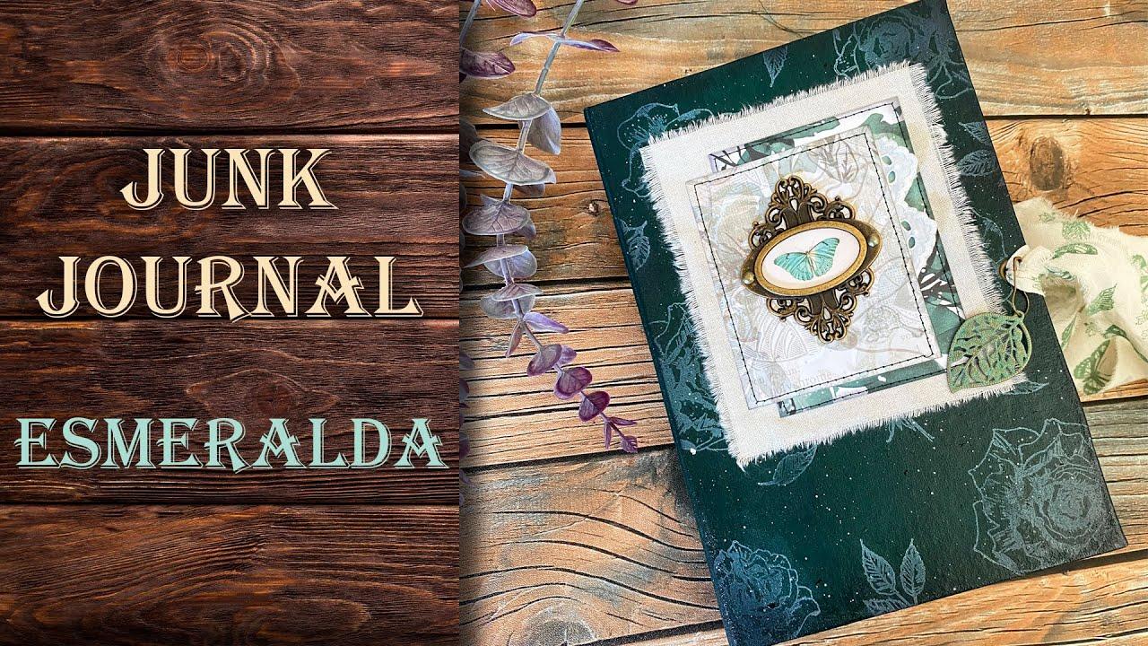 Junk Journal Esmeralda