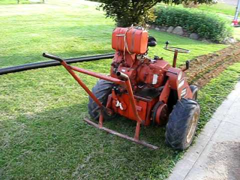 Good Old Ditch Witch Trencher