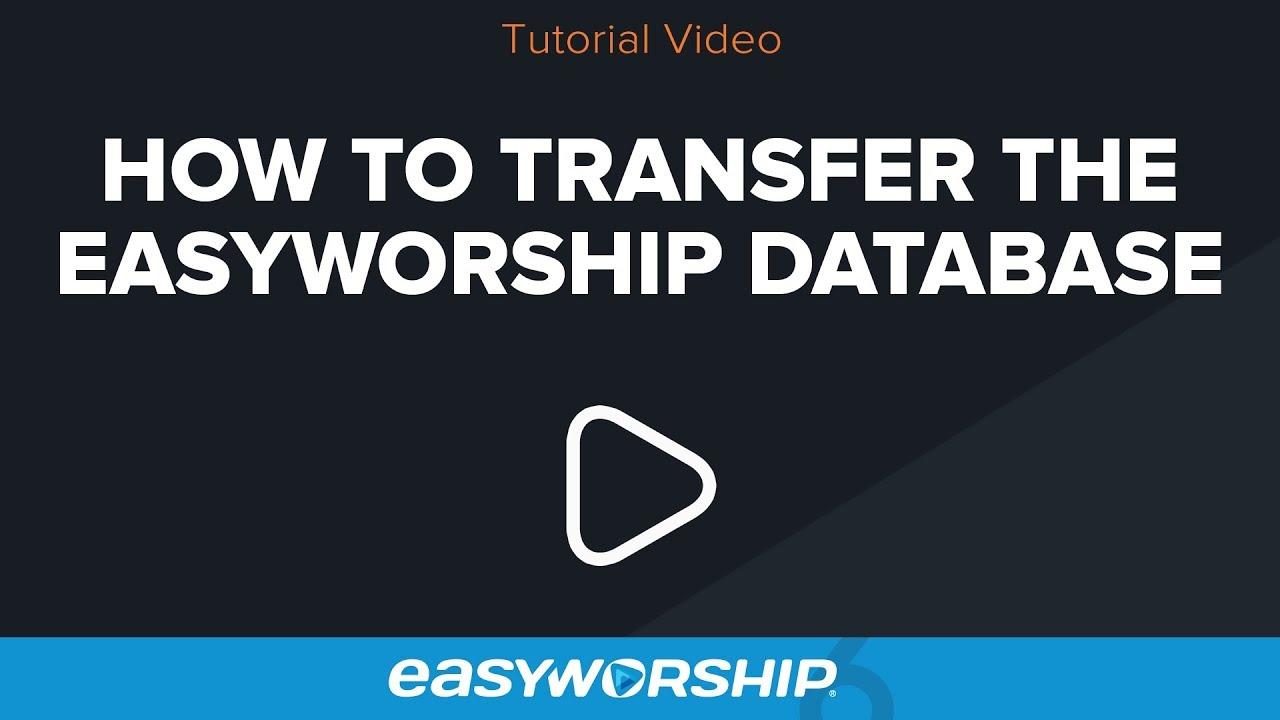 easyworship 7 manual