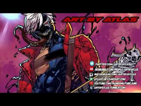 Devil May Cry VENOMIZED DANTE Speed Coloring | Marvel vs Capcom Infinite Time Lapse