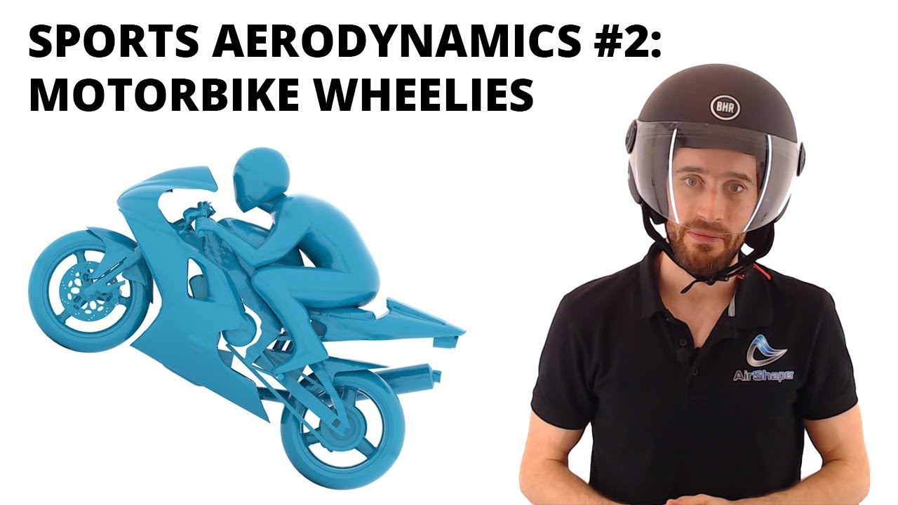 Sports Aerodynamics #2: Motorbike Wheelies!