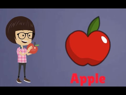Learn fruits vegetables for children preschool learning | kids.