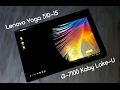 Распаковка, обзор, тест Lenovo Yoga 510-15 i3 7100 kaby lake U