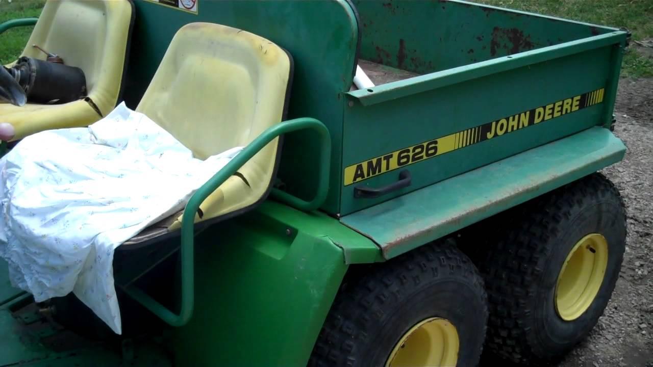 john deere amt 626 and kawaski 175 youtube rh youtube com John Deere AMT 622 Motor John Deere AMT 626 Engine