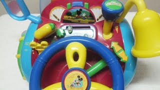 Driving Game Toy-Shifting,Flashing Lights,Sound,Mickey Mouse-Disney Thumbnail