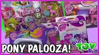 PONY PALOOZA! 6 My Little Pony Toys Reviewed! | Bin