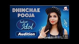 Dhinchak Pooja || Indian Idol Audition || ft. Carryminati , Bhuvan bam , Nazar battu , Pardesi girl
