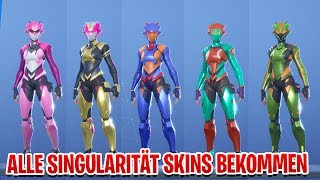 All SINGULARITY Skins get in Fortnite | All places of styles