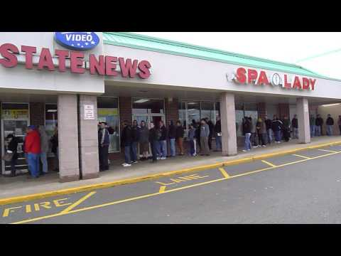 Record Store Day 2013 at Vintage Vinyl in Fords, NJ Saturday April 20 big line of record collectors