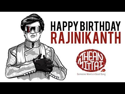 RAJINIKANTH Birthday Song 2017 Tribute | 2.0 | THEANMITTAI SWAGS