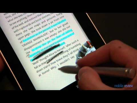 Обзор планшета HTC Flyer