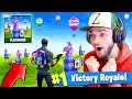 *NEW* PLAYGROUND MODE GAMEPLAY in Fortnite: Battle Royale! (x100 Llamas)