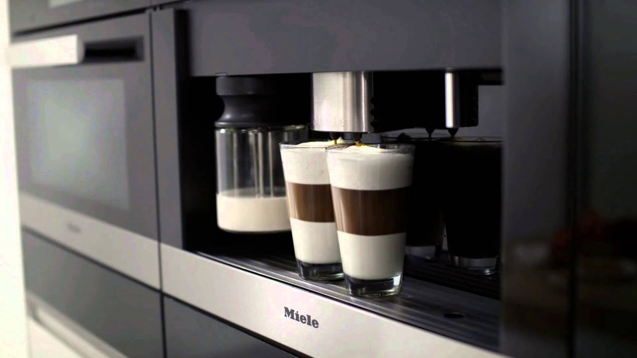 miele cva 6401 cs machine espresso encastrable vid o produit youtube. Black Bedroom Furniture Sets. Home Design Ideas