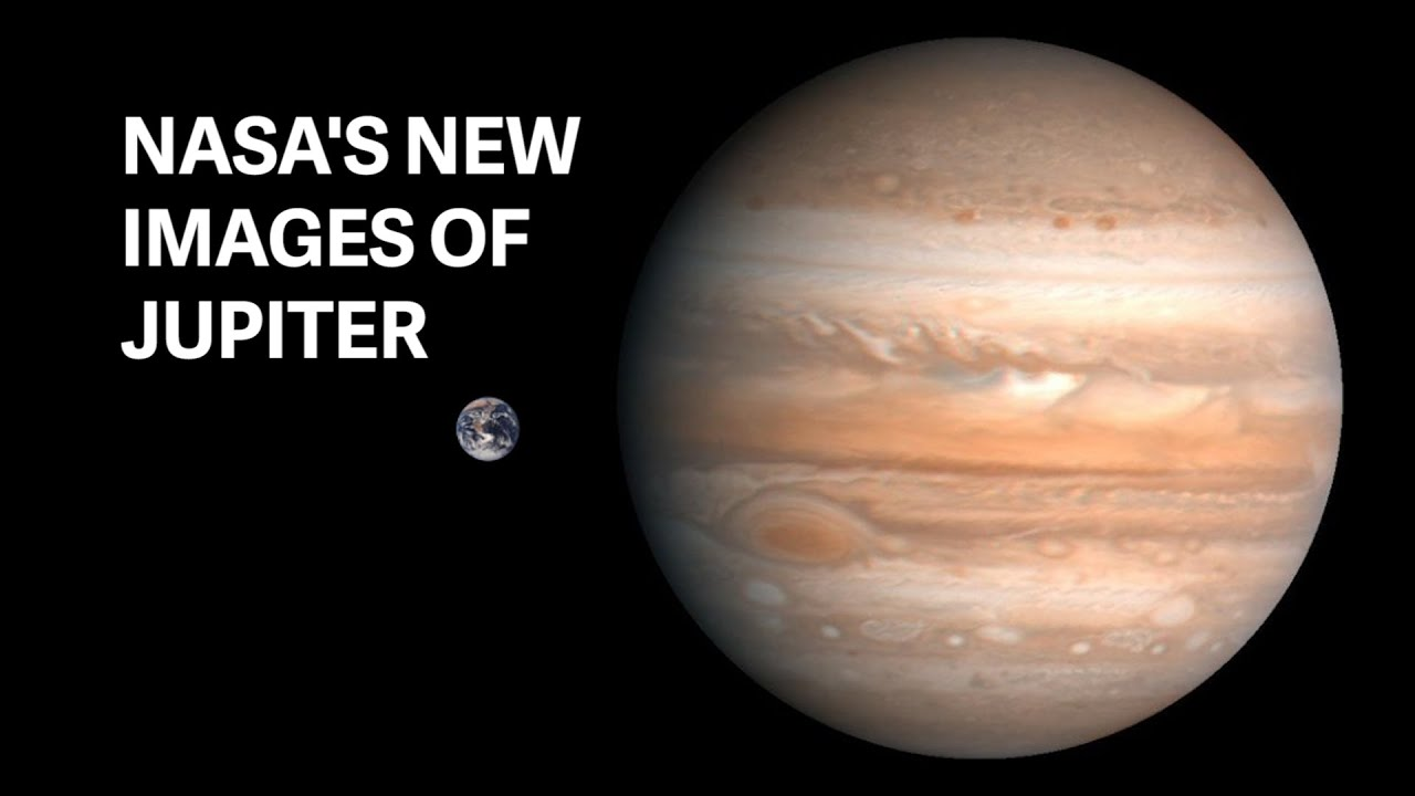 NASAs New HD Images Of Jupiter
