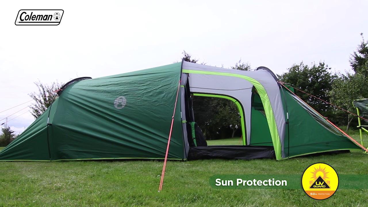 Coleman® Chimney Rock 3 Plus - 3 Person Blackout Bedroom Tunnel Tent - EN & Coleman® Chimney Rock 3 Plus - 3 Person Blackout Bedroom Tunnel ...