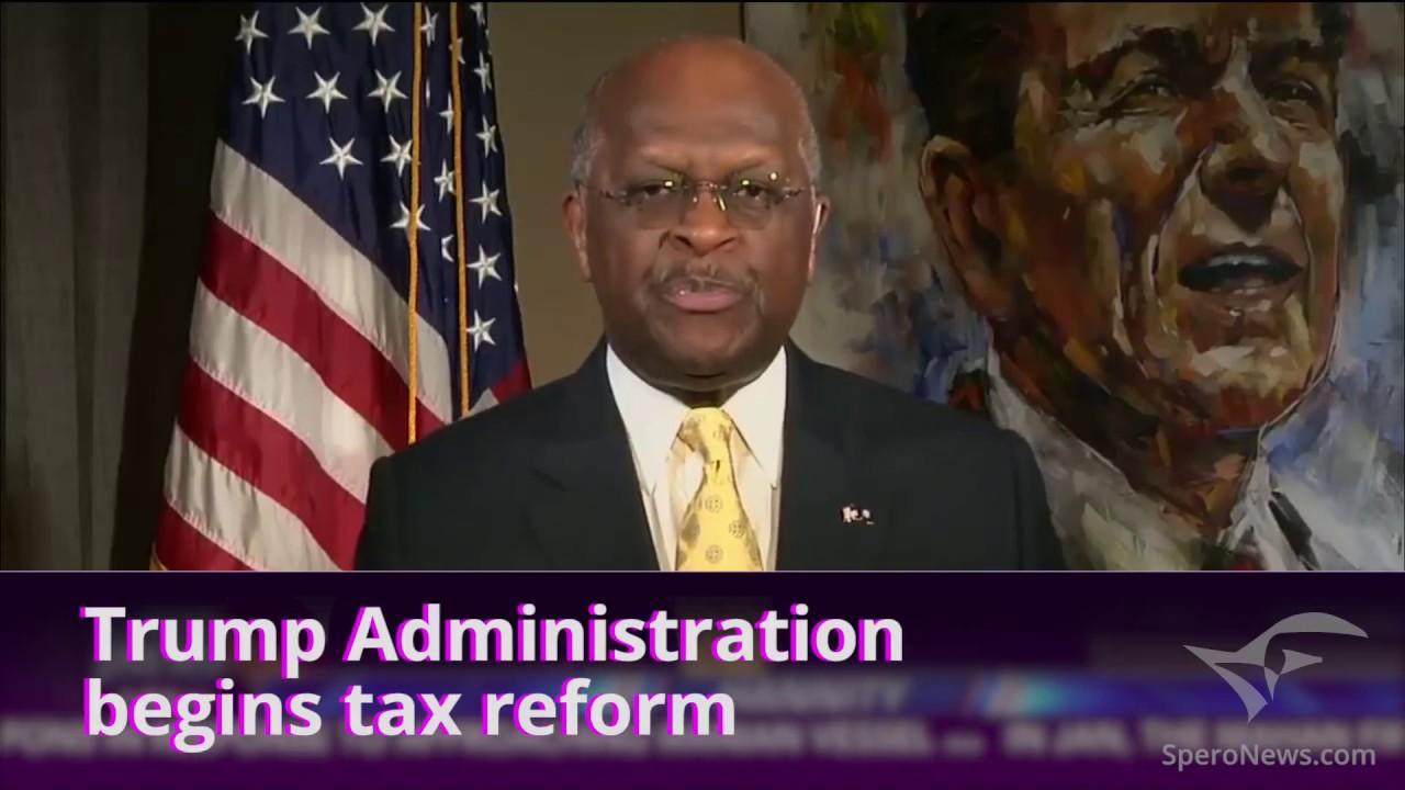 Herman Cain endorses the FairTax, flat tax and all tax reform ...