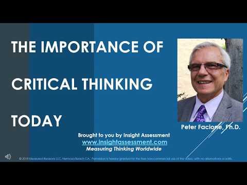 Видео Importance of critical thinking in nursing profession