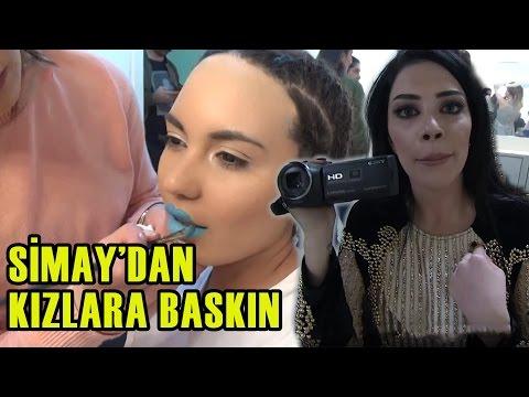 TV'DE YOK   Simay Kameraman Oldu, Kızlara Baskın Yaptı!