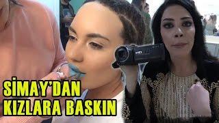 TV'DE YOK | Simay Kameraman Oldu, Kızlara Baskın Yaptı!