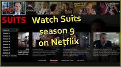 Stream Suits season 9 on Netflix!