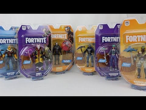 Fortnite Solo Mode Series 1 Figures Review