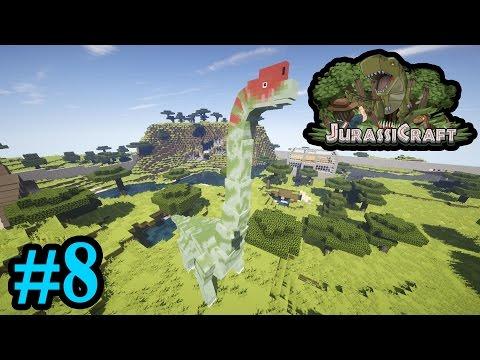 Sauropod Hotel Brachiosaurus!!! | Jurassicraft 2.0 - Minecraft | #8