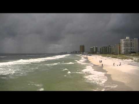 USA: США: Panama City Beach...Ocean .... st. Andrews state park... на пляже в Панама Сити , Пир