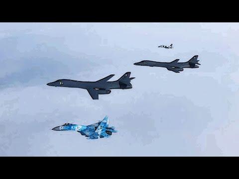 РФ забила тревогу: Боевые самолеты США и Украины пролетели над Черным морем