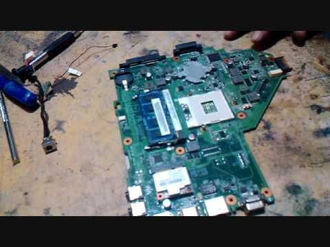 How to repair Acer Laptop dead motherboard