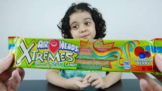 تحدي تذوق حلويات غريبة - سكاكر ! 2  Candy Taste Challenge