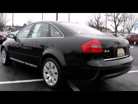 2000 audi a6 4 2 in schaumburg il 60173 youtube. Black Bedroom Furniture Sets. Home Design Ideas