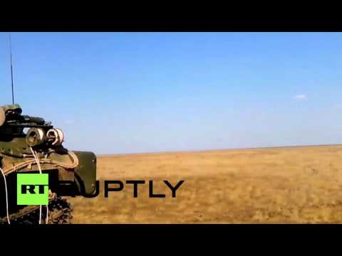 Russia: Mighty missiles fired from moving launcher Tor-M2U SAM