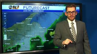 Upper Peninsula Weather Forecast - June 11, 2019