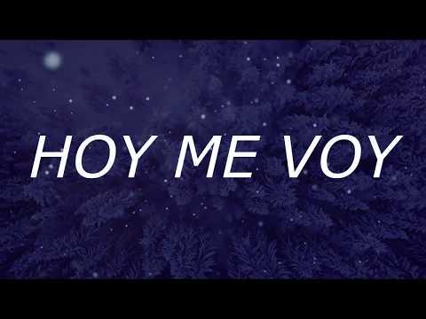 2- MATIAS ANDRES - HOY ME VOY [VIDEOLYRICS OFICIAL/LETRA]