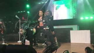 "Tinashe ""Party Favors"" Live #Joyrideworldtour San Diego"