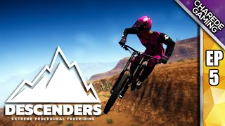 Descenders: Woodlands Wipeouts And Onto The Canyon For The First Time | Charede Plays Ep #5