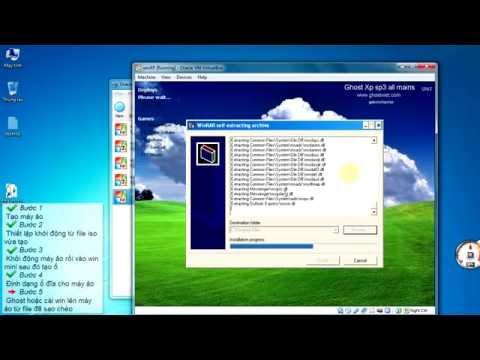 Cách Cài Hoặc Ghost Windows Cho Máy ảo [HD720]