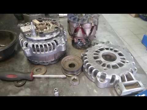 видео: Ремонт генератора Шевроле chevrolet