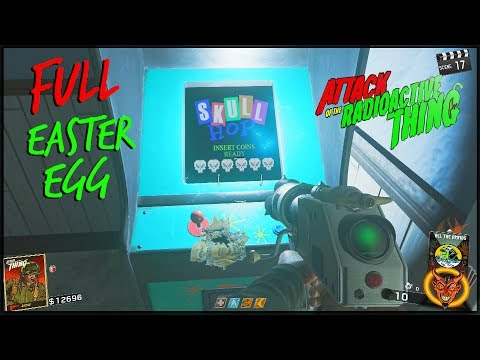 Skull Hop Complete Guide! Attack Of The Radioactive Thing Easter Egg (Ghost And Skulls)