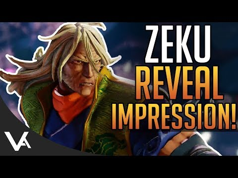 SFV - Zeku Gameplay Reveal Impressions! Quick Trailer Breakdown For Street Fighter 5