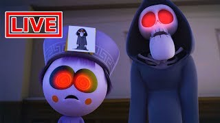 Funny Animated Cartoon | Spookiz LIVE 🔴  | Kong Kong On The Dark Side | 스푸키즈 | Cartoon for Children