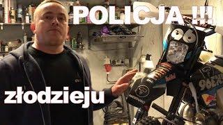 złodzieju  POLICJA jest na tropie