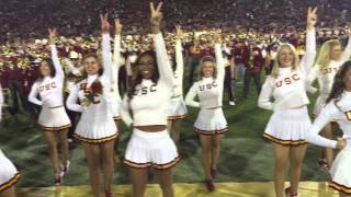 Nicole Steen Performs at the 2015 USC Homecoming Game with the World Famous USC Song Girls
