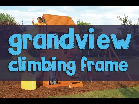 Grandview Climbing Frame - Selwood Products